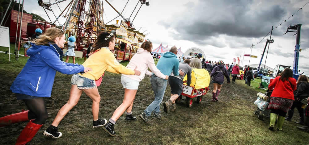 event-organisers for Festival trolley Hire