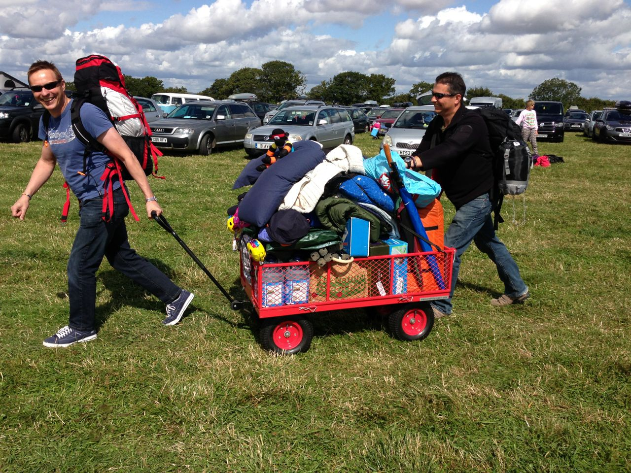 Carfest Trolley and Cart