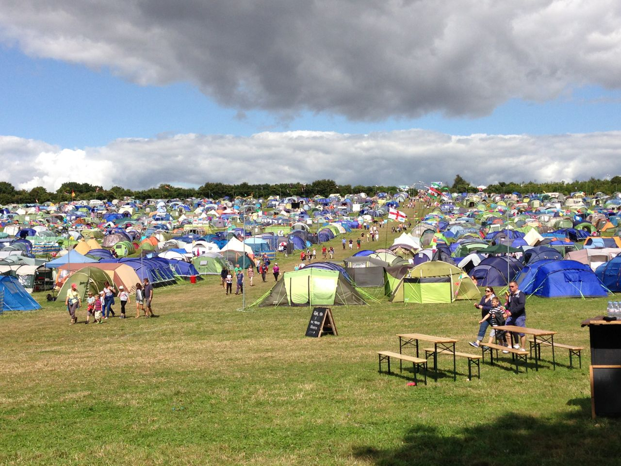 Camping at Carfest South