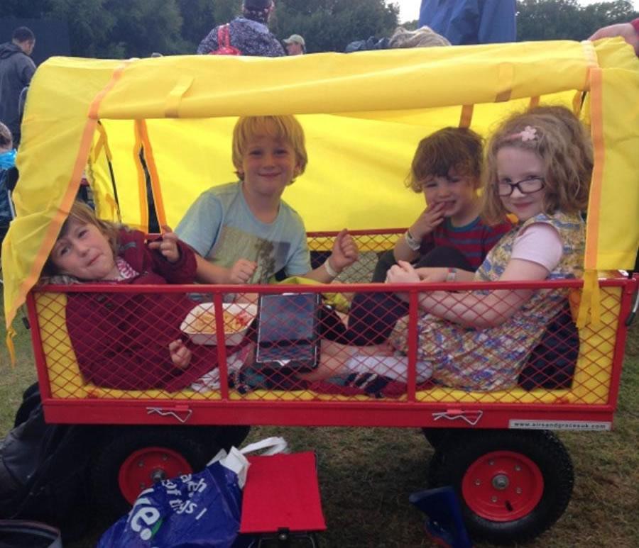 Festival Trolley at Carfest