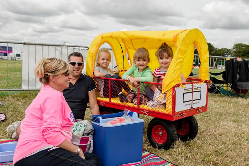 Carfest Trolley for kids