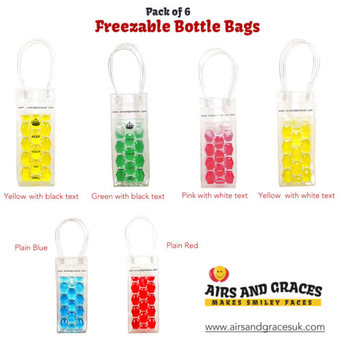 Freezable Bottle- Bag pack-6