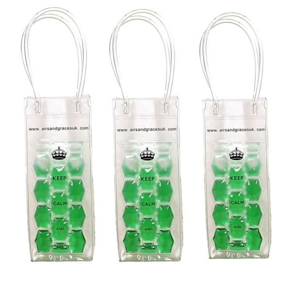 Freezable bottle bag - keeps drinks cold