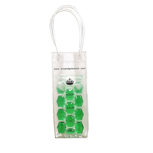 Freezable bottle bag