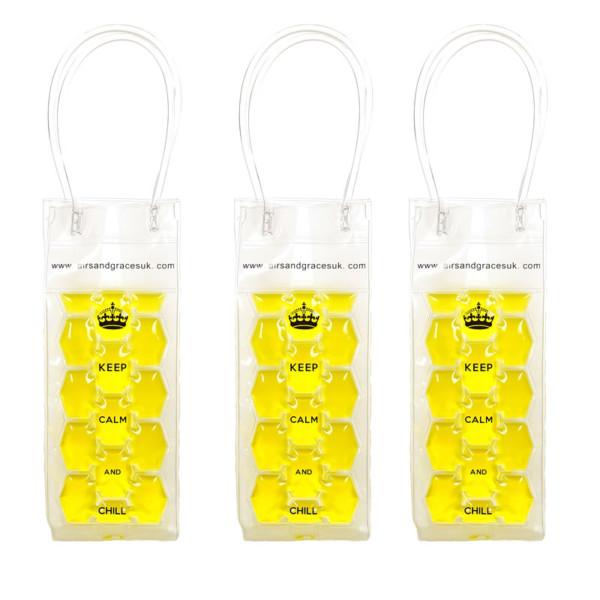 Freezable bottle bag