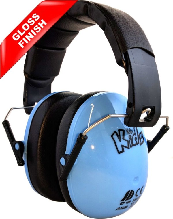 blue kids ear defenders