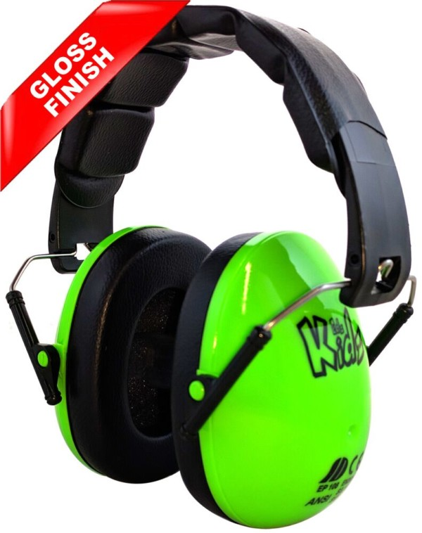 green kids ear defenders