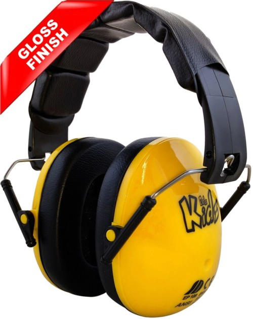 yellow kids ear defenders