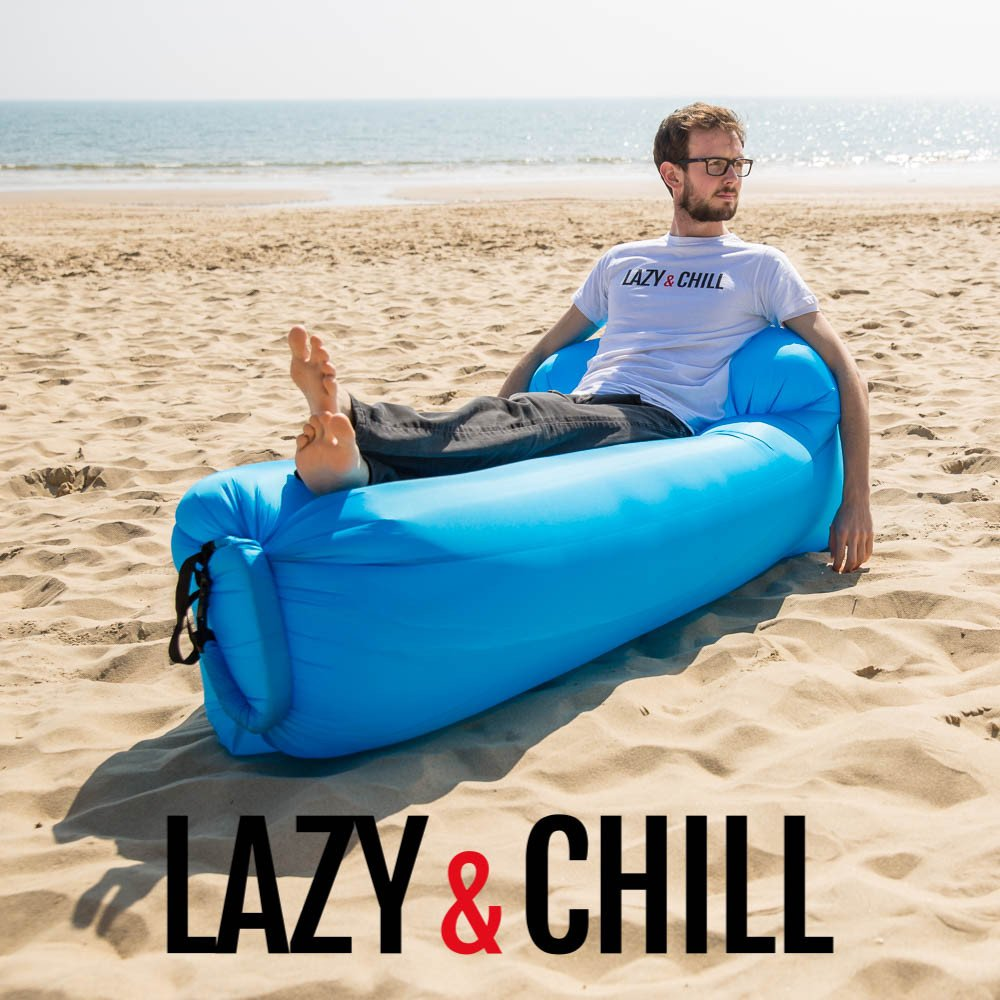 lazy and chill lounger skyblue