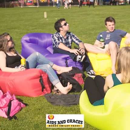 inflatable seats for festivals