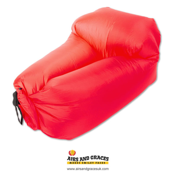 lazy and chill inflatable seats - pods - ideal for festivals