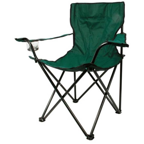 Folding chair for festivals and outdoor events -blue