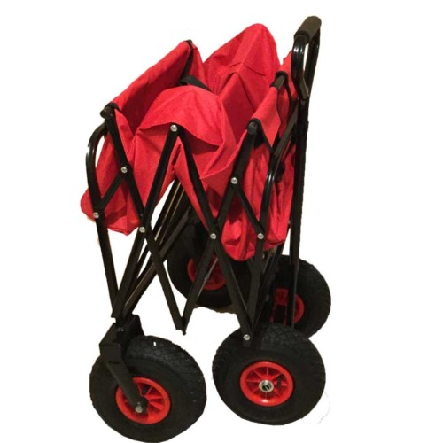 Folding Cart/ trolley with sturdy Wheels