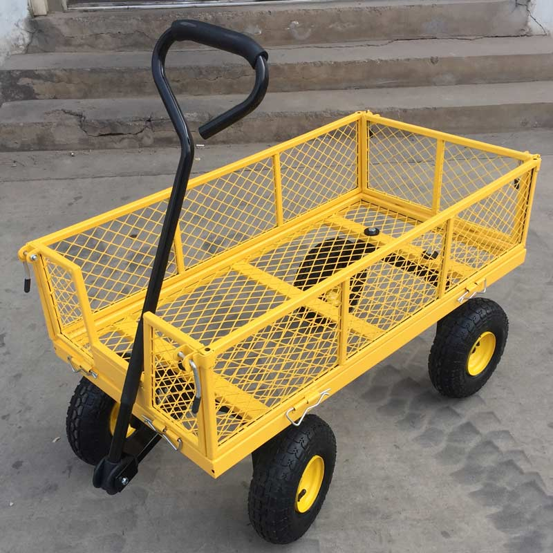 yellow cart trolley for festivals